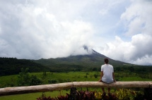Costa Rica: Vulkan Arenal 1968