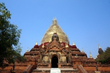 Myanmar Bagan Dhammayazika Pagode