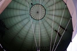 Myanmar Bagan Heißluftballon innen