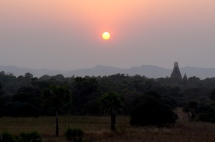 Myanmar Bagan Sonnenaufgang