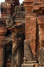 Myanmar Bagan Verzierung einer Pagode