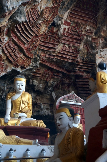 Myanmar Hpan Kawgun Höhle