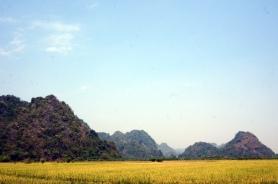 Myanmar Hpan Landschaft