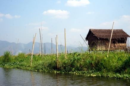 Myanmar Inle See Ankunft
