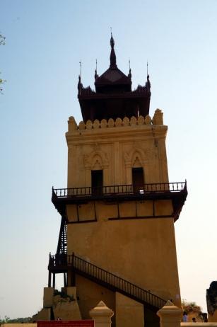 Myanmar Inwa schiefer Turm