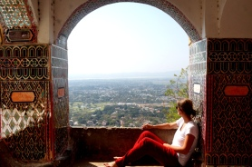 Myanmar Mandalay Aufstieg Mandalay Hill