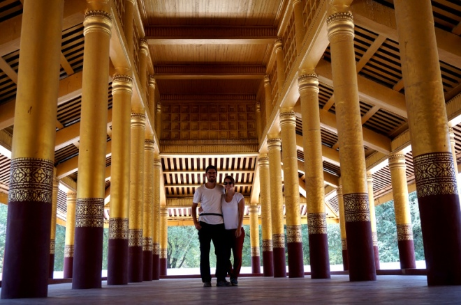 Myanmar Mandalay Königspalast