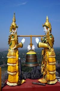 Myanmar Mawlamyine Kyauk Ta Lone Pagode oben