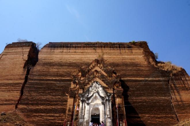 Myanmar Mingun Hsinbyume Pagode