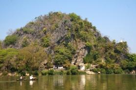 Myanmar mit dem Boot nach Hpan