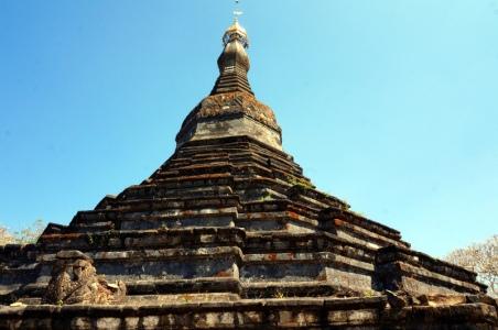 Myanmar Mrauk U Pagode