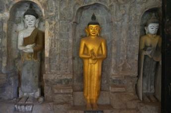 Myanmar Mrauk U Tempel