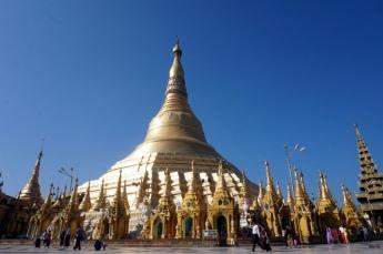 Myanmar Shwedagon Pagode