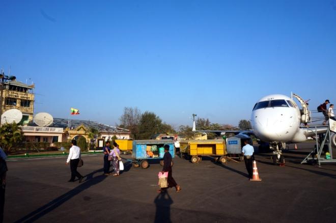 Myanmar Sittwe Flughafen