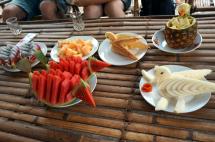 Myanmar Trekking Fruchtkunst