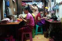 Myanmar Yangon Bogyoke Aung San Markt