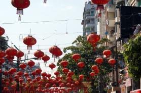 Myanmar Yangon im chinesischen Viertel