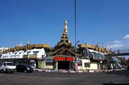Myanmar Yangon Sule Pagode