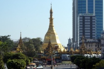 Myanmar Yangon zwischen Tradition und Moderne