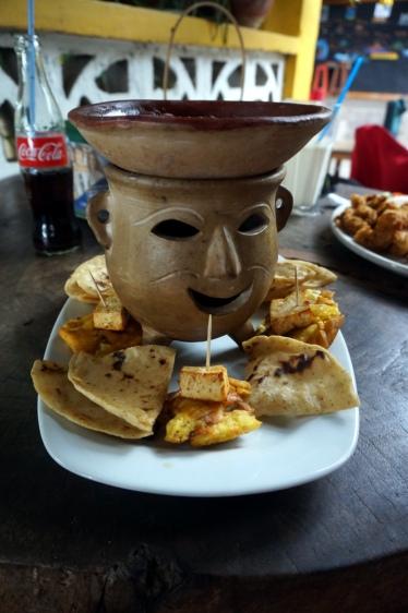Nicaragua: Bohnen mit Tortillas