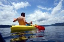 Nicaragua: Laguna de Apoyo kayaken