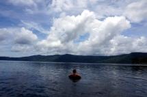 Nicaragua: Laguna de Apoyo chillen im Tube