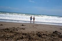 Nicaragua: Las Penitas Blick Strand
