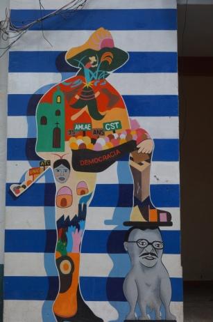 Nicaragua: Leon Graffiti