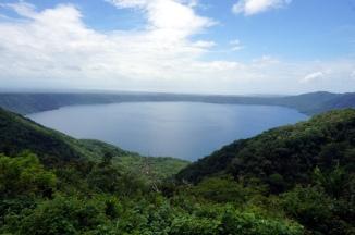 Nicaragua: Pueblos Blancos Ausblick auf Laguna de Apoyon