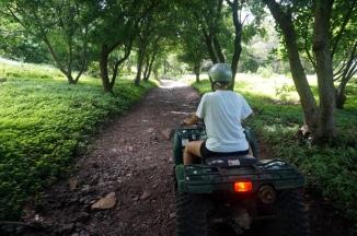 Nicaragua: Ometepe mit dem Quad zum Wasserfall