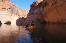 USA_Antelope Canyon mit dem Kayak