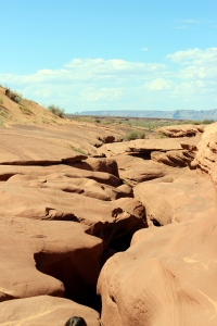 USA: Antelope Canyon von oben