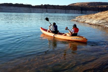 USA_Antelope Island Kayak