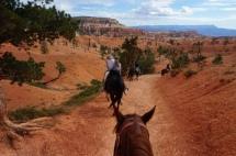 USA: Bryce Canyon mit dem Pferd