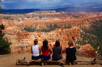 USA: Wir vor dem Bryce Canyon