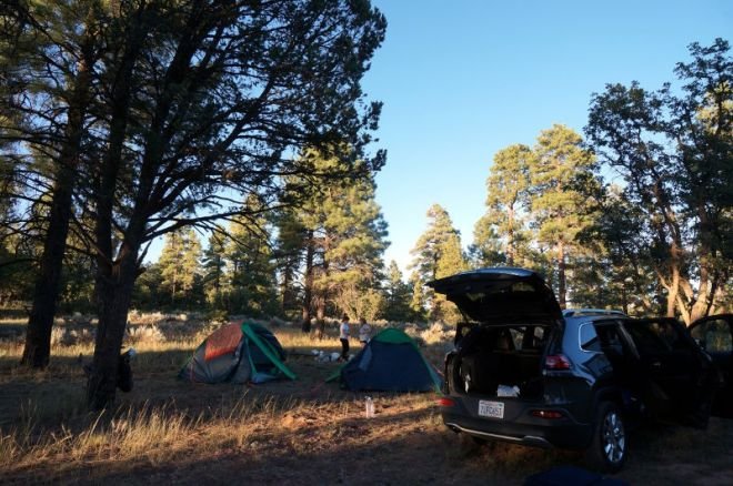 USA: Free Campground vor dem Grand Canyon Nationalpark