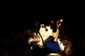USA: Lagerfeuer und Marshmallows