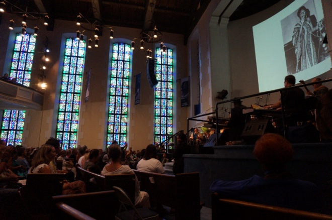 USA: Gospel Church Messe