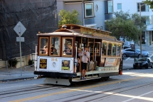 USA: San Francisco Cable Car