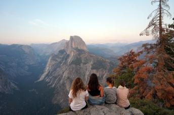 USA: Yosemite Glacier Point