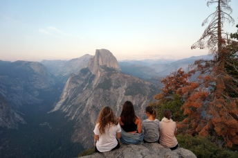USA: Yosemite Glacier Point