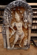 Sri Lanka Anuradhapura Guard Stone