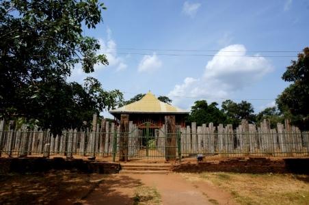 Sri Lanka Anuradhapura Reste des Palastes