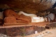 Sri Lanka auf den Felsen gegenüber von Sigiriya
