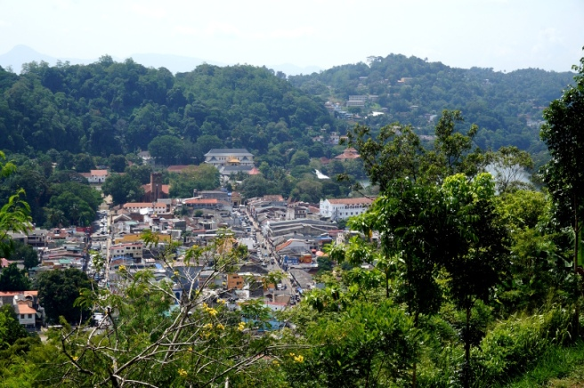 Sri Lanka Blick auf Kandy