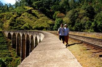 Sri Lanka Ella 9 Arch Bridge mit uns
