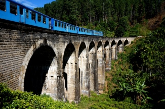 Sri Lanka Ella 9 Arch Bridge