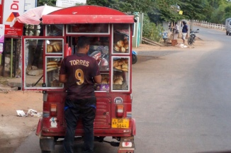Sri Lanka Kandy Bäckertuktuk