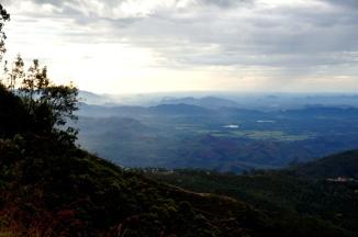 Sri Lanka Liptons Seat ohne Nebel