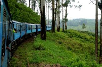 Sri Lanka mit dem Zug von Kandy nach Ella